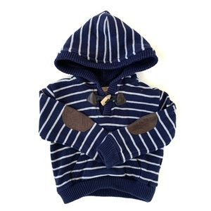 Mayoral Toddler Boy Striped Hooded Sweater